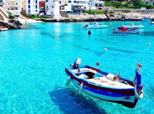 1 Day Esclusivo in Barca a Vela o Gommone – Favignana e Levanzo