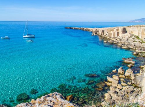 1 Day Exclusive Sailing or Inflatable Boat - Favignana and Levanzo or Marettimo