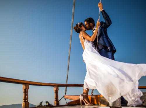 Wedding Event in Sailboat